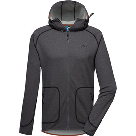 PYUA Spate-Y S Hooded Zipper Herren grey melange